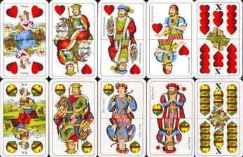 Herzeln Kartenspiel