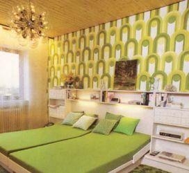 Schlafzimmer Apfelgrün | Wilde Jahre In Orange Und Braun Farbimpulse