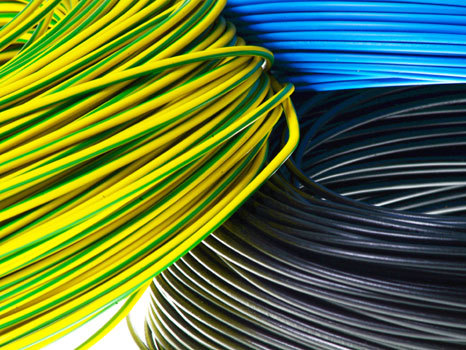 Bunte Kabel farbige adern farbimpulse