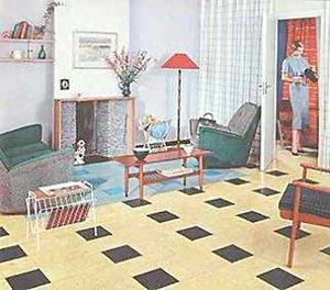 Pastellfarbener abschied vom tristen nachkriegsgrau for Wohnzimmer 1960